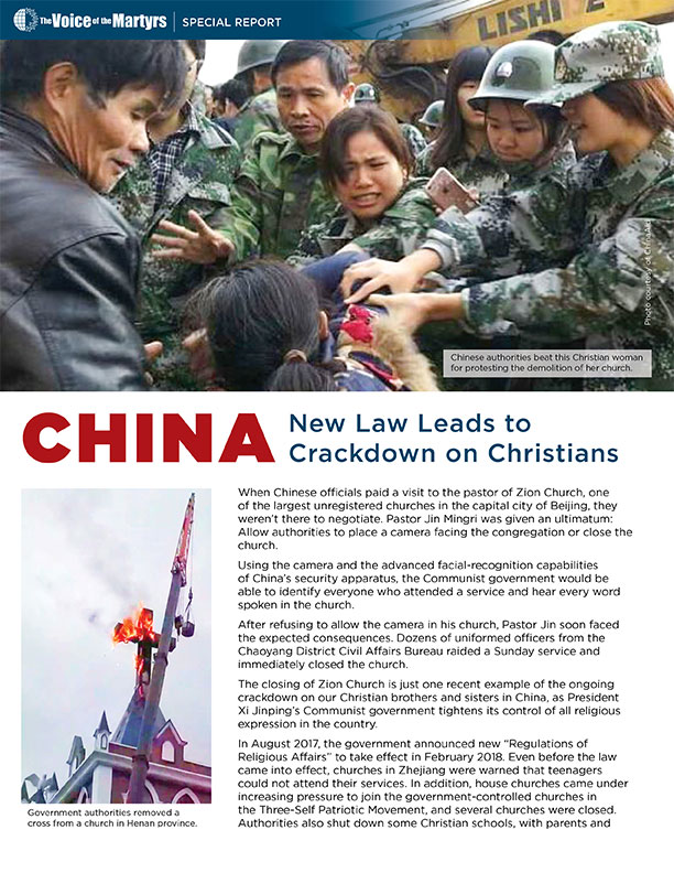 Cover of China Report